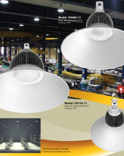 Led High Bay Light Malaysia: U-LITE Save The World In A New Light » LEDs Series
